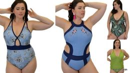12 Bulk Yacht & Smith Plus Size Womens Assorted Bathing Suit Lots Limited Supply