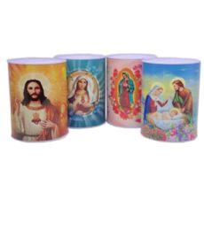 60 Bulk Medium Bank Religious Assorted Design