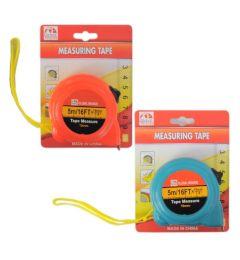 72 Bulk 5 M Measuring Tape In Assorted Color