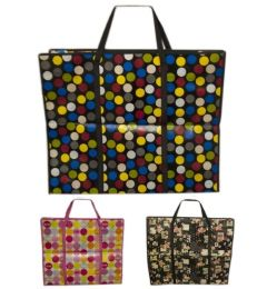 48 Bulk Heavy Duty Bag In Assorted Color 60x45x20 cm