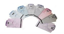 24 Bulk Men's Fashion Button Down