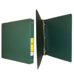 72 Bulk Bazic 11 Inch Green 3 Inch Binder