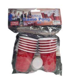 96 Bulk Game Pong Set With 2 Mini Balls