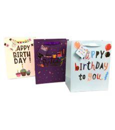 96 Bulk Birthday Gift Bag Size Large