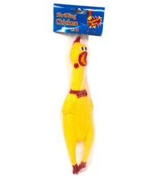 96 Bulk Squeeze Toy Chicken