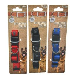 96 Bulk Collar Paws Small 12-18 Inch Small