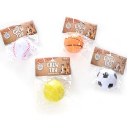 240 Bulk Squeaky Ball Pet Toy Assorted Style