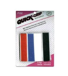 96 Bulk Quick Grip Fasteners Assorted Color