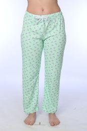 36 Bulk Ladies Cotton Comfortable Pajama Bottoms