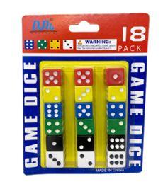 96 Bulk 18 Piece Dice Set