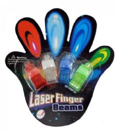 120 Bulk 4 Piece Car Finger Light Ring