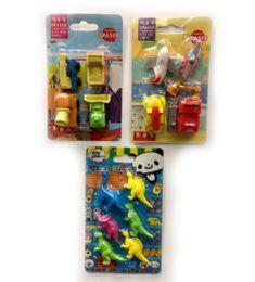 120 Bulk Mini Eraser Boy Style 2