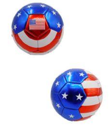 15 Bulk USA Design Soccer Ball 9 Inch
