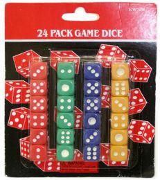 120 Bulk 24 Piece Dice Set