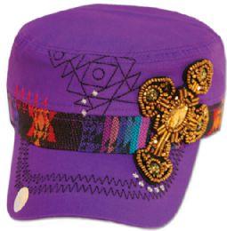 24 Bulk COTTON CADET HATS