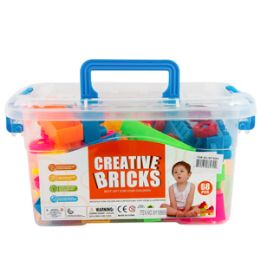 12 Bulk Creative Interlocking Blocks Set 50 Piece Set