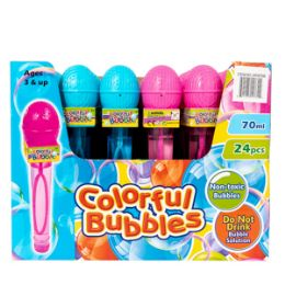 48 Bulk Microphone Bubble Wand