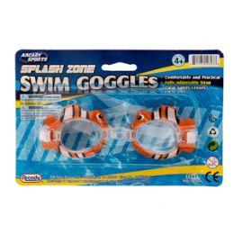 96 Bulk Animal Swim Goggles