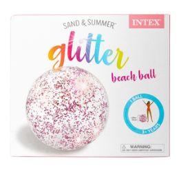 12 Bulk Inflatable Glitter Ball