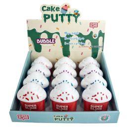 72 Bulk Cake Glitter Putty