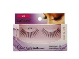 72 Bulk Laflare V13 100% Human Hair Velvet Remy Eyelashes