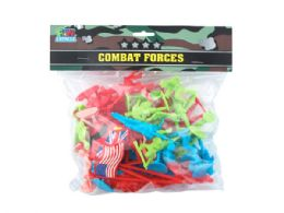 36 Bulk 56 Piece Combat Forgers Army Men Set