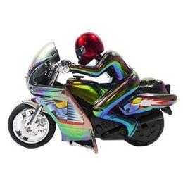 12 Bulk Friction Powered Motorcycle