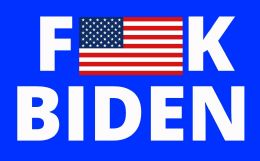 120 Bulk Fuck Biden Bumper Stickers