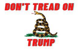 120 Bulk Don't Tread On Trump Bumper Sticker