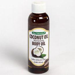 24 Bulk Coconut Oil Moisturizing 4.5 Oz Bottle