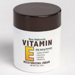 12 Bulk Vitamin E Moisturizing Cream 6 Oz Jar