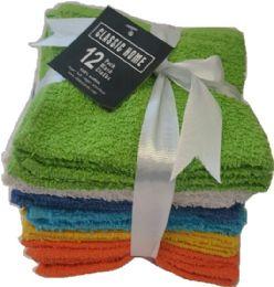 36 Bulk Wash Cloth 12pack