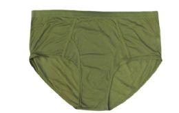 72 Bulk Mens Cotton Brief In Green