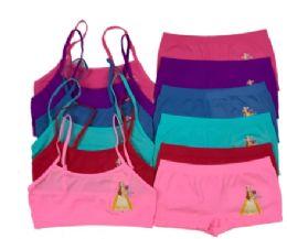 36 Bulk Girl's Seamless Bra And Boxer Set