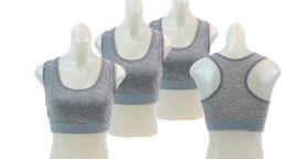 48 Bulk Ladies' Cotton Sports Bra