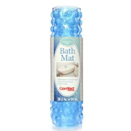 4 Bulk CoN-Tact Bubble Blue Bath Mat