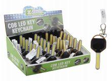 48 Bulk Ez Tech Key Chain Cob Led Key