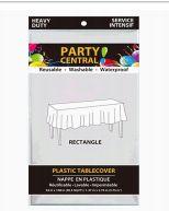 96 Bulk Table Cover Rectangle White Heavy Duty