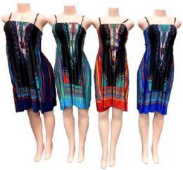 12 Bulk Women's Short Fashion Dress