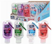 96 Bulk Hand Sanitizer 1. 8oz With Clip Display