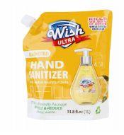 60 Bulk Ultra Hand Sanitizer Refill 33.8 Oz Lemon Citrus