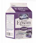 72 Bulk Wish Epsom Salt 16Oz Box Lavender