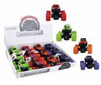 36 Bulk Toy Monster Truck Display