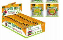 72 Bulk Green Shield Mosquito Wristband 1 Pack