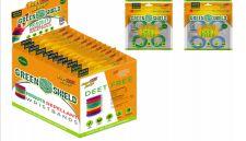 36 Bulk Green Shield Mosquito Wristband 4 Pack