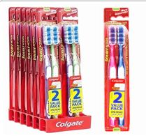 72 Bulk Colgate Toothbrush Double Action 2 Pack