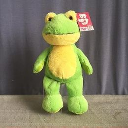 24 Bulk 8.5 Inch Stuffed Frog With Beanie