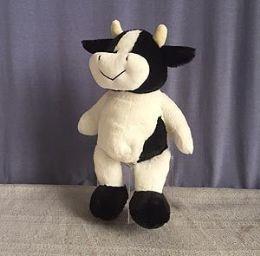 24 Bulk 8.5 Inch Soft Stuffed Cow