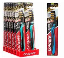 72 Bulk Colgate Toothbrush Zig Zag Charcoal