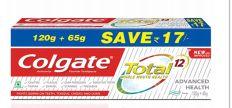 36 Bulk Colgate Toothpaste 160G 6.52oz Total Clean Mint